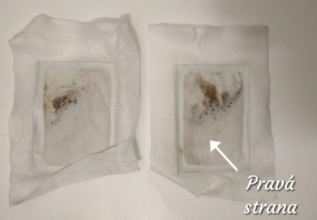 Detoxikační náplasti Detox Patch nabolesti zad